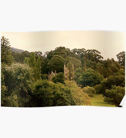 Majestic Castle Poster