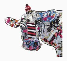 cow in new york  Kids Clothes