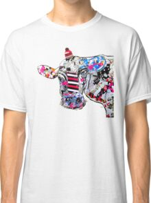 cow in new york  Classic T-Shirt