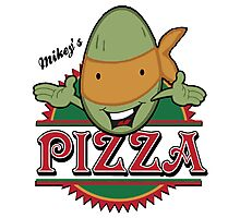 Mickey's Pizza Photographic Print