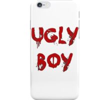 UGLY BOY iPhone Case/Skin