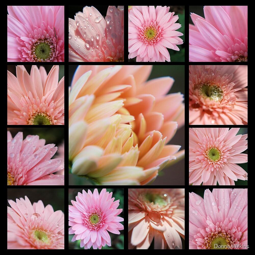 Pink Collage by Donna Adamski