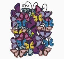 butterfly tee  by teegs