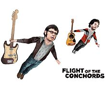 Flight of the Conchords by lukecorallo