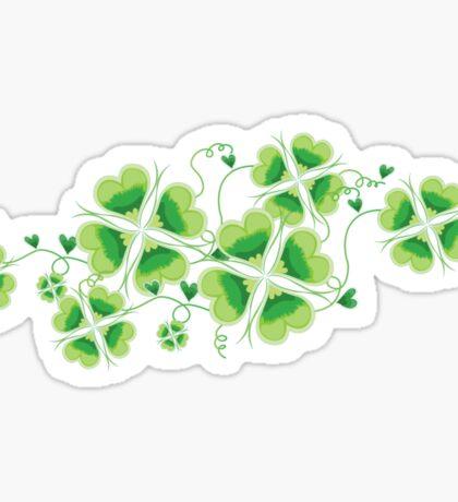 Clovers - St Patricks Day Sticker
