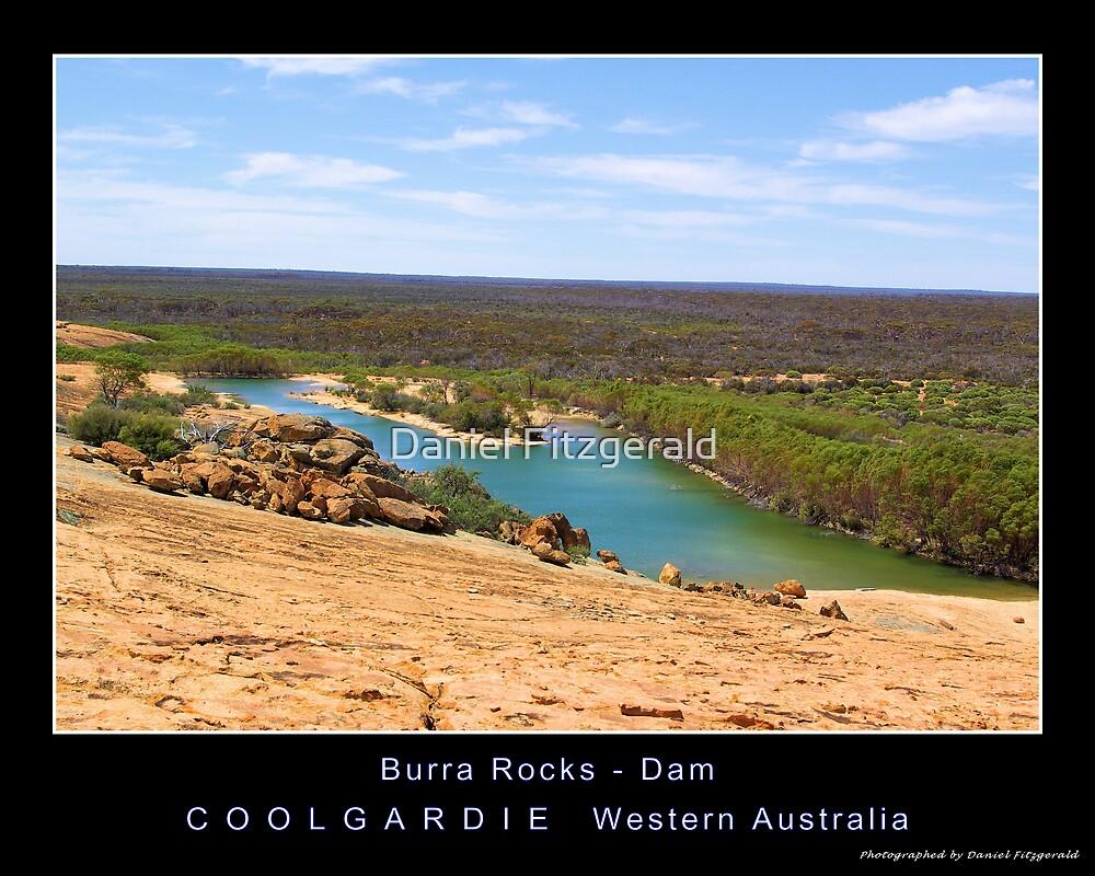 Burra Rocks - Dam by Daniel Fitzgerald