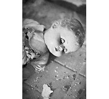 Broken doll p1 Photographic Print