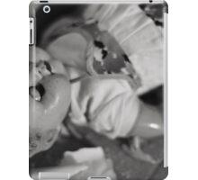 Broken doll p2 iPad Case/Skin