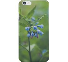 Tiny Blue Flowers iPhone Case/Skin