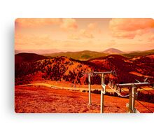 High Above the Divide Canvas Print
