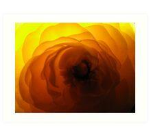 flashy flora Art Print