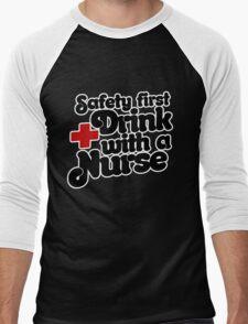 Safety FIRST Men's Baseball ¾ T-Shirt