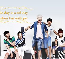 Valentine's Day - B1A4 by theoneshots