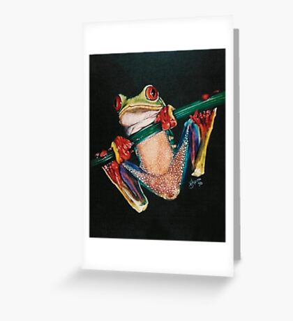 Flashy Dresser Greeting Card