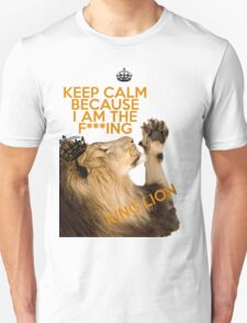 Lion Keep Calm T-Shirt