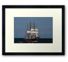 James Craig - Newcastle Harbour NSW Framed Print