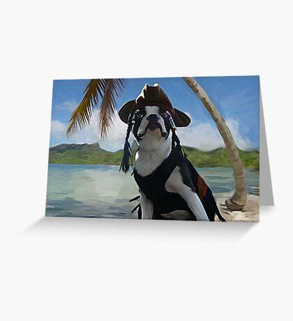 Capt Jack Sparrow ... Greeting Card