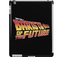 Barista of the future iPad Case/Skin