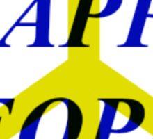 Peace Happy People Sticker