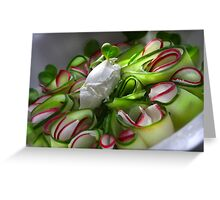 Favorite Summer Carpaccio Greeting Card