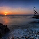 Meeting Dawn At Selsey by jakeof