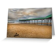 Lytham St Anne's Pier Greeting Card