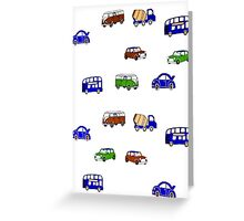 Tots transport Greeting Card