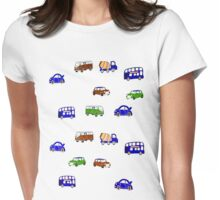 Tots transport Womens Fitted T-Shirt