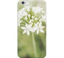 Garlic chives iPhone Case/Skin