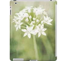 Garlic chives iPad Case/Skin