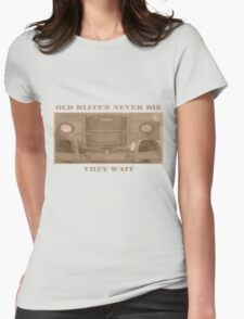 Blitz's never die Womens Fitted T-Shirt
