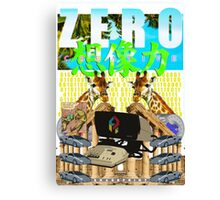 Creative ZERO [Edition One] Canvas Print