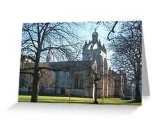 King's College, Old Aberdeen II Greeting Card