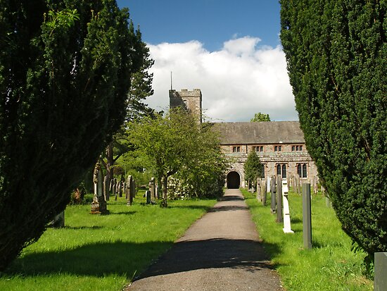 St. Kentigem at Caldbeck by WatscapePhoto