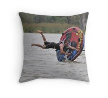 Hang Tight. Throw Pillow