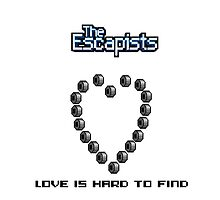 The escapists Love is duck tape (black text) by fitzbola