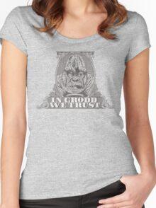 In GRODD We Trust Women's Fitted Scoop T-Shirt