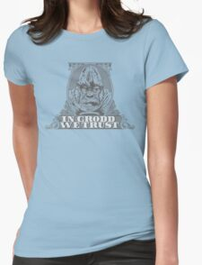 In GRODD We Trust Womens Fitted T-Shirt
