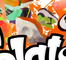 Splatoon - Inkling  Sticker