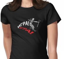 PLAY! Inverted Womens Fitted T-Shirt