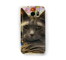 I'm imitating those amime cats!  Samsung Galaxy Case/Skin