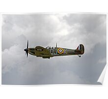 Spitfire Mk IIA  P7350 Poster