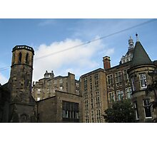 The old town from Candlemaker Row Photographic Print
