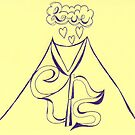 Vesuvius + Venus = Love by KazM