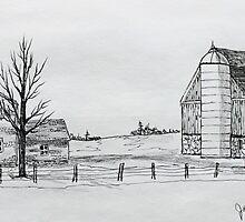 Ritzke Homestead by Jack G Brauer