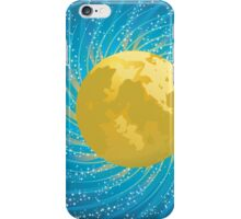 Abstract night sky iPhone Case/Skin