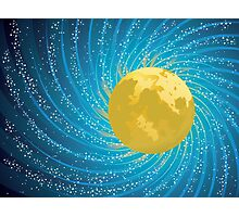 Abstract night sky Photographic Print