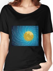 Abstract night sky Women's Relaxed Fit T-Shirt