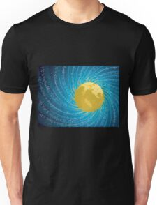 Abstract night sky Unisex T-Shirt