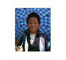 Hmong Woman Art Print